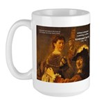Art & Atmosphere Rembrandt Large Mug