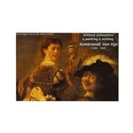 Art & Atmosphere Rembrandt Rectangle Magnet
