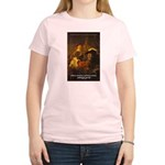 Art & Atmosphere Rembrandt Women's Pink T-Shirt