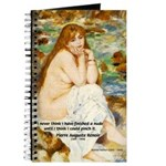 Renoir Impressionist Nude Journal