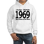 Man Lands on the Moon - July 20th 1969 History Clothing & Gifts - Hoodie