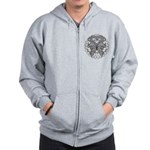 Tattoo Butterfly Diabetes Zip Hoodie
