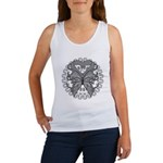 Tattoo Butterfly Diabetes Women's Tank Top