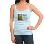 Alfred Sisley Nature Quote Jr. Spaghetti Tank