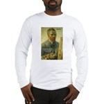 Vincent Van Gogh Quote Long Sleeve T-Shirt