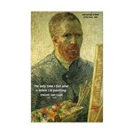 Vincent Van Gogh Quote Mini Poster Print