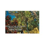 Artist Van Gogh Painting Rectangle Magnet