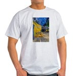 Vincent Van Gogh Color Art Ash Grey T-Shirt