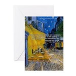 Vincent Van Gogh Color Art Greeting Cards (Package