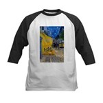 Vincent Van Gogh Color Art Kids Baseball Jersey