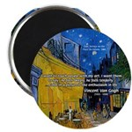 "Vincent Van Gogh Color Art 2.25"" Magnet (100 pack)"