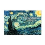 Starry Night Vincent Van Gogh Mini Poster Print