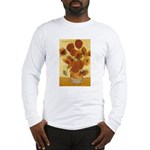 Van Gogh Painting & Quote Long Sleeve T-Shirt