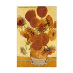 Van Gogh Painting & Quote Mini Poster Print