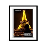 Art Architecture Eiffel Tower Framed Panel Print