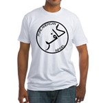 Pure Infidel (Black Logo) Fitted T-Shirt