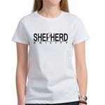 White GSD Agility Women's T-Shirt