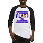 Offended By America Baseball Jersey