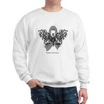 Diabetes Tribal Butterfly Sweatshirt