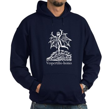 History Gift Guide - History Clothing - Great Moon Hoax Man-Bat Hoodie