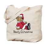 Beary Christmas Tote Bag