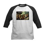 Intoxication Nietzsche Art Kids Baseball Jersey