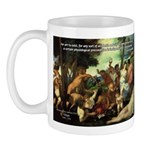 Intoxication Nietzsche Art Mug