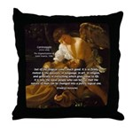 Religious Art & Beauty Throw Pillow