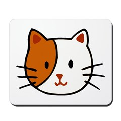 Calico Cat Cartoon Mousepad