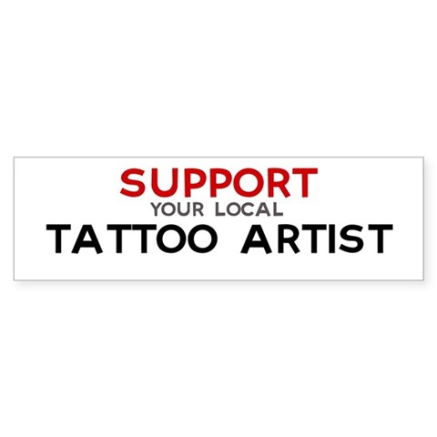 tattoo artist jobs. Support: TATTOO ARTIST Bumper