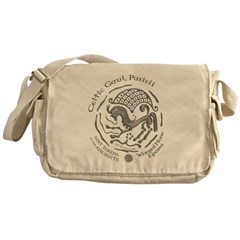 Celtic Epona Coin Messenger Bag