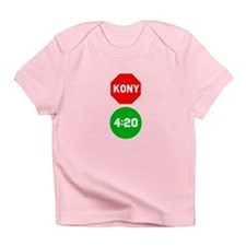 Stop Sign Kony Go 420 Infant T-Shirt