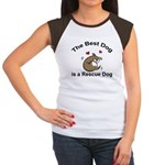 Best Rescue Dog Women's Cap Sleeve T-Shirt