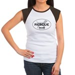 Rescue MOM Women's Cap Sleeve T-Shirt