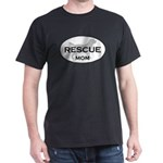Rescue MOM Black T-Shirt