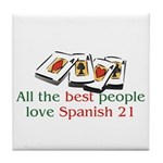 Spanish 21 Tile Coaster
