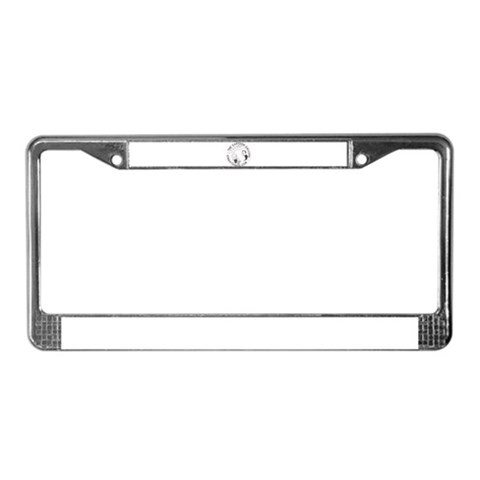 funny license plate frames. Logo Shocking News Funny License Plate Frame