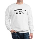 Property of Dog Sweatshirt