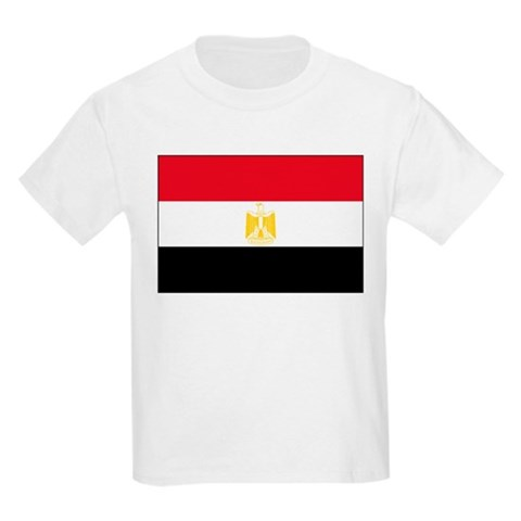 cafepress > T-shirts > Flag of Egypt Kids T-Shirt. Flag of Egypt Kids T-Shirt