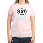 407 Orlando Area Code Oval Women's Light T-Shirt