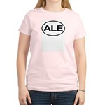 ALE Beer Lager Brew European Oval Women's Light T-