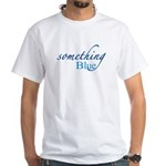 Something Blue White T-Shirt