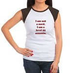 Not Nerd Assassin Women's Cap Sleeve T-Shirt