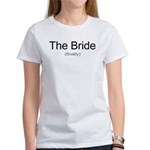Finally the Bride Women's T-Shirt