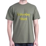 My Only Saturday Green T-Shirt