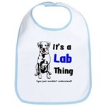 It's A Lab Thing Bib