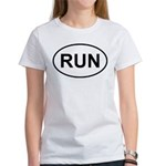 Run Runner Running Track Oval Women's T-Shirt