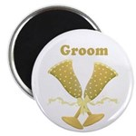 Golden Groom Magnet