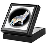 Ghost Wolf Keepsake Box