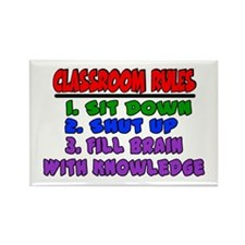 classroom rules rectangle